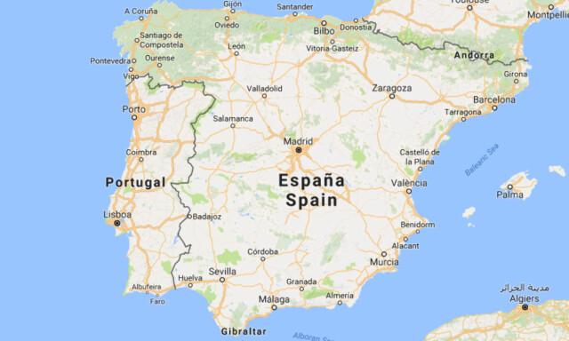 Kart Portugal Spania Dedooddeband