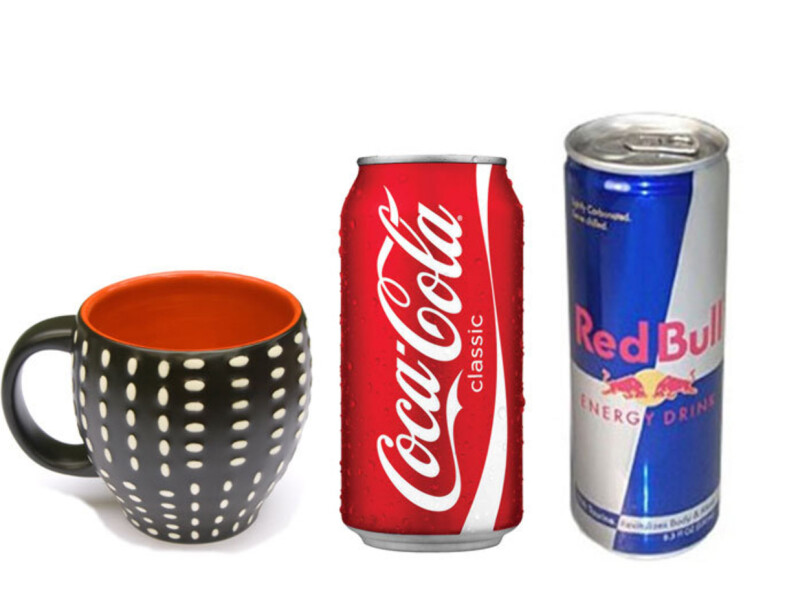 koffein kaffe cola eller red bull. Black Bedroom Furniture Sets. Home Design Ideas